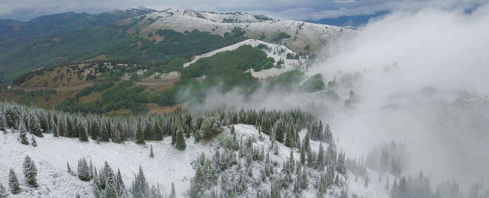 Utah's First Snow September 2019