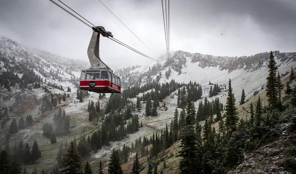 Snowbird Red Tram