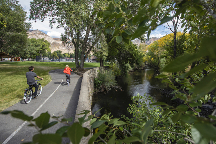 Ogden River Parkway Cyclingjpg