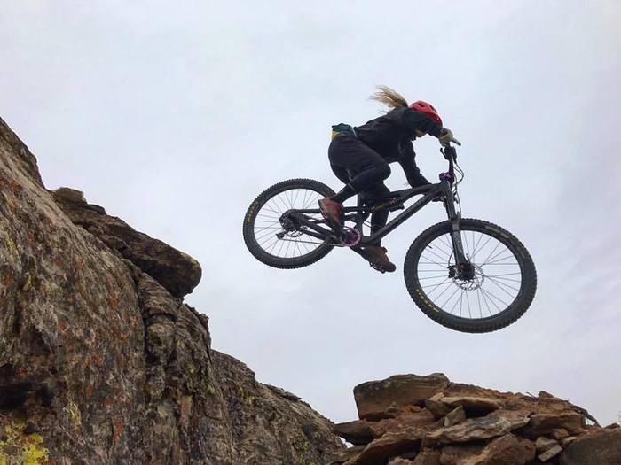 Hailey jumping