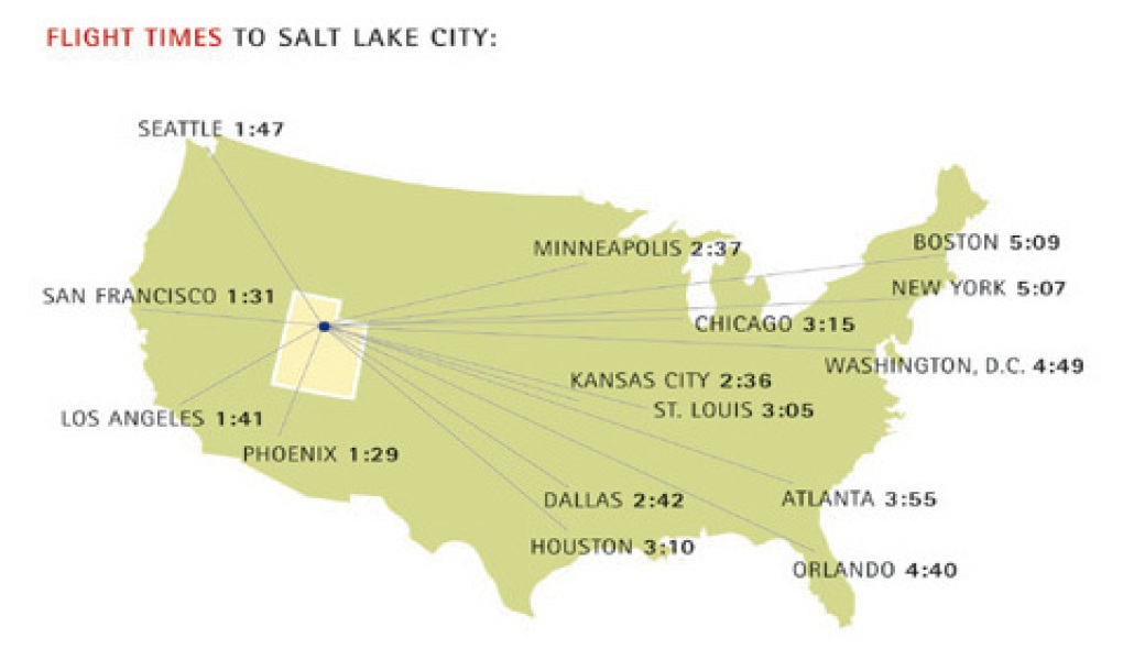 Airlines that fly into salt lake city utah