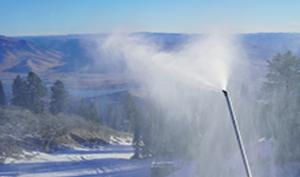 Snowbasin Snow Making 2019
