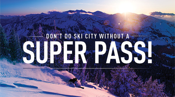 Don't Do SKI CITY Without A Super Pass!