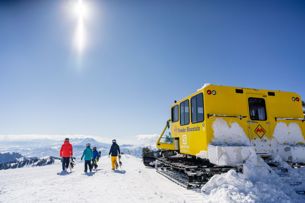 Powder Mountain Cat Skiing Adventures