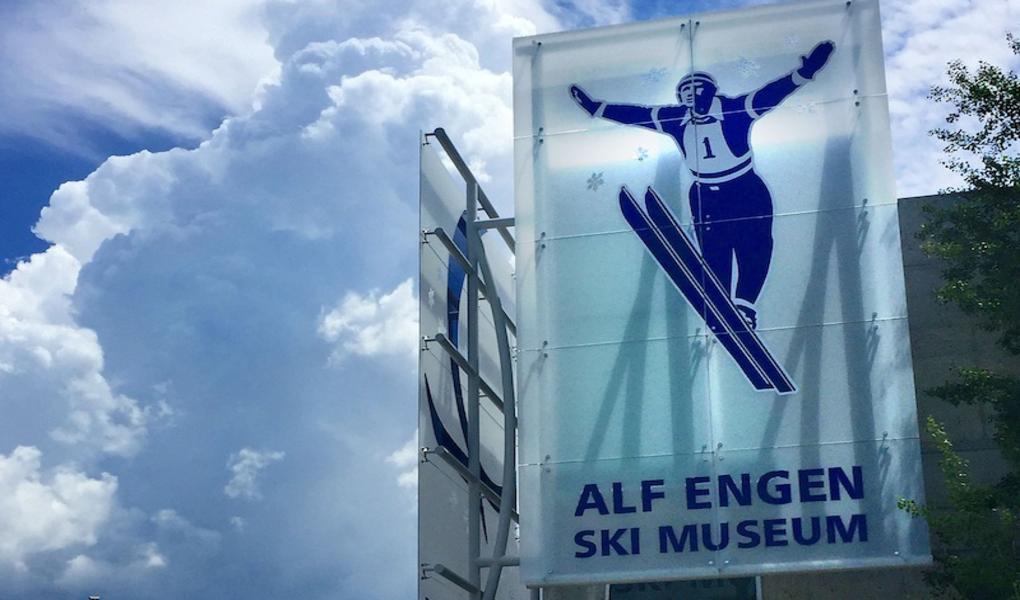 The Alf Engen Ski Museum Entrance