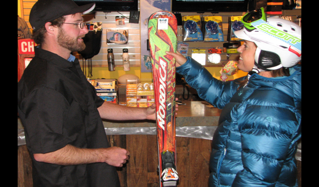 Aloha Ski and Snowboard Rentals' friendly staff is here to help!