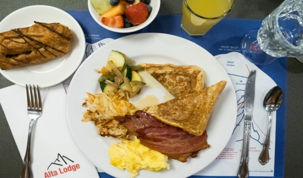 Full breakfast buffet included in nightly rate