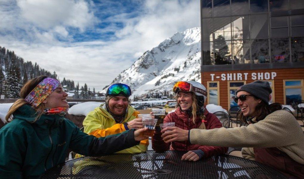 Alta is for Apres-ski