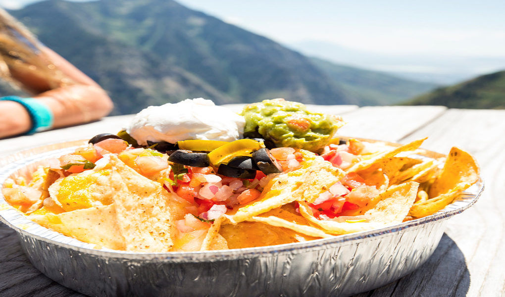 Nachos with a view