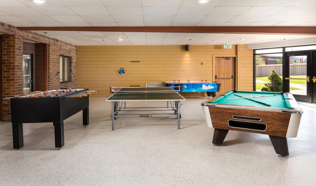 Ping Pong, Pool, Air Hockey