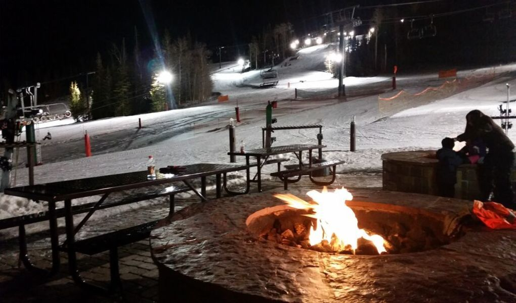 Brian Head Resort  Night Skiing
