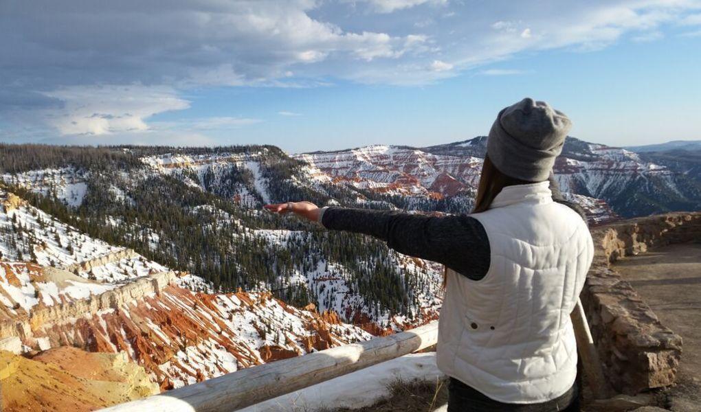 Cedar Breaks National Monument Overlook