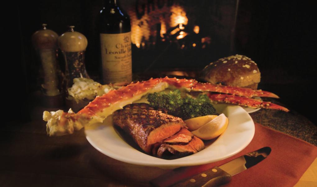 Crab and Steak