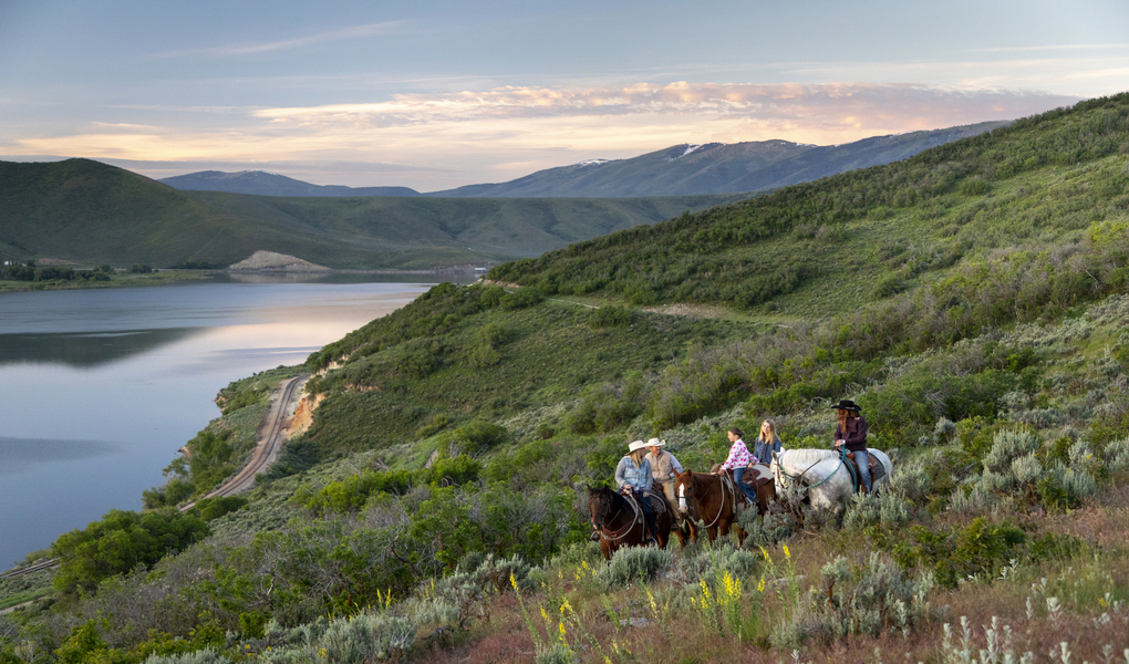 Horseback Riding in the Wasatch