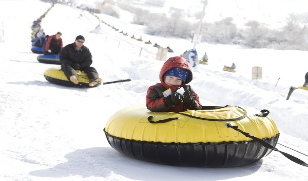 Longest tubing lanes in the state at the Soldier Hollow Olympic Park