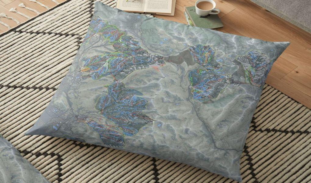 One Wasatch Floor Pillow