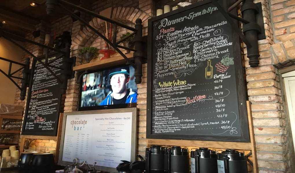 Murdock's Cafe Menu