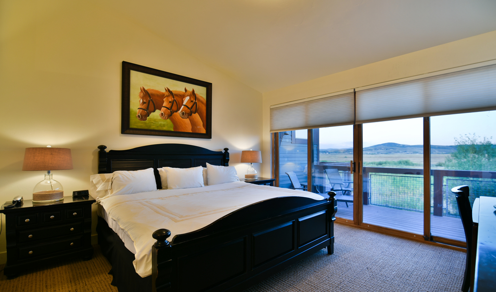 Townhome Master Bedrom