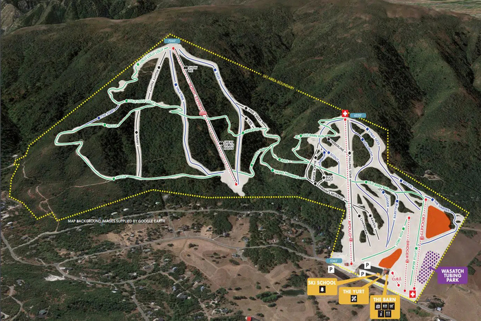 Nordic Valley Trail Map