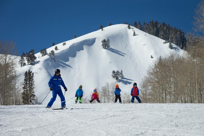 Ultimate 3 Ski Lesson - Age 3