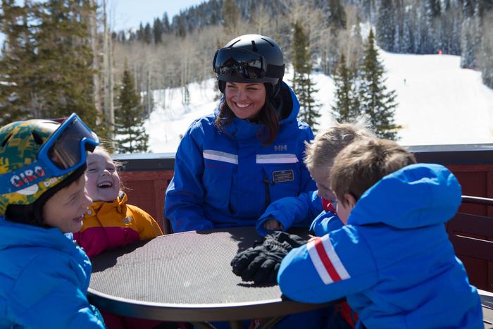 Ultimate 4 Ski Lesson - Ages 4-6