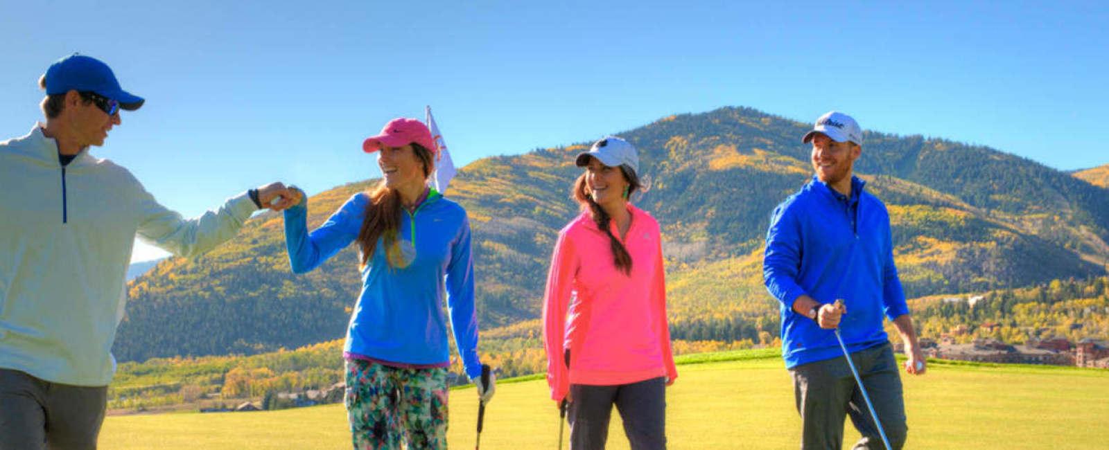 Park City Mountain Canyons Golf Course