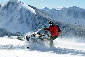Park City Peaks Snowmobiling
