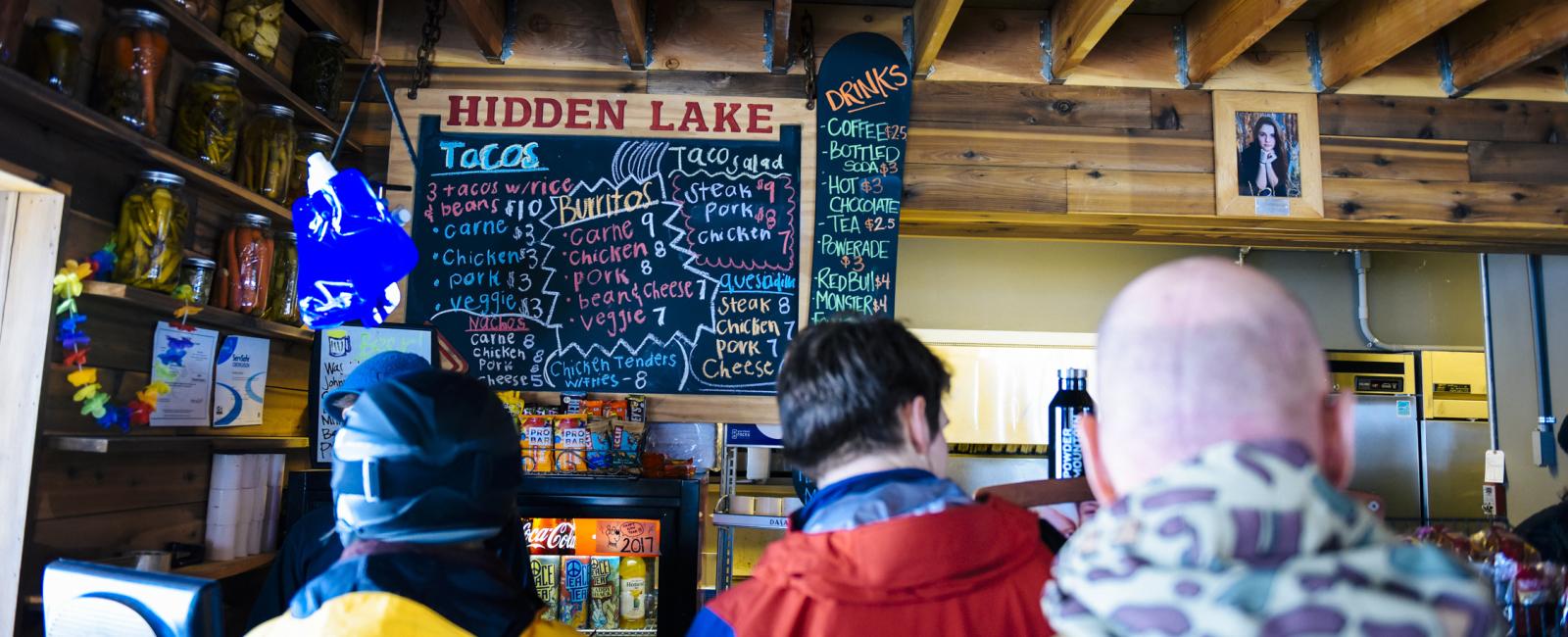 Powder Mountain Hidden Lake Cantina