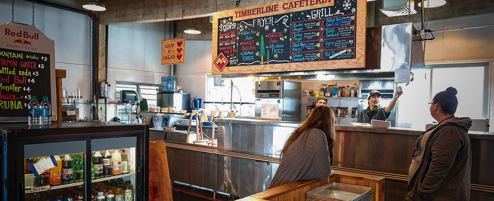 Powder Mountain Timberline Cafeteria