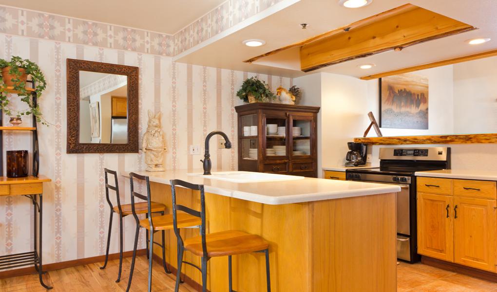 Kitchen at Lakeside