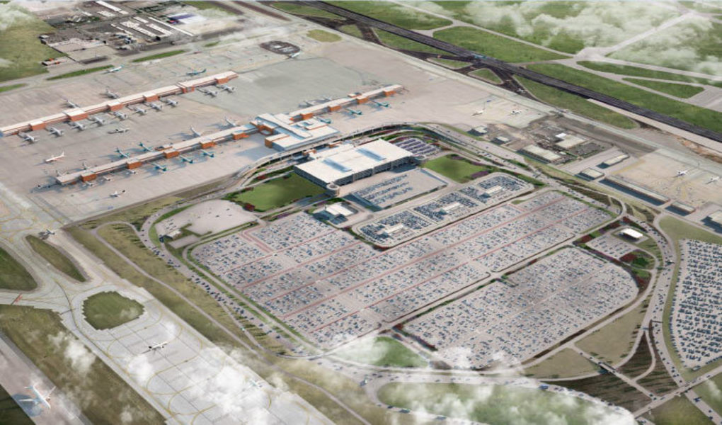 The New SLC Renderings - Arial View