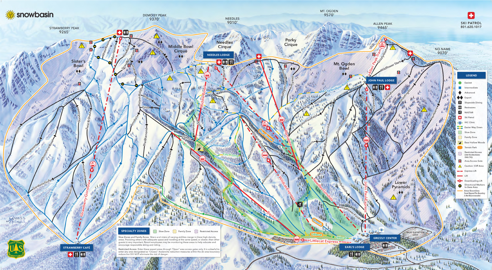 Trail Maps for Each of Utah s 14 Ski Resort Ski Utah