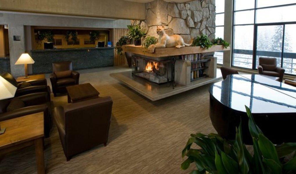 Lobby of the Lodge at Snowbird