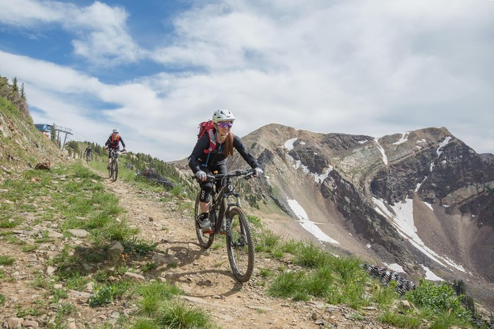 Snowbird Mountain Biking