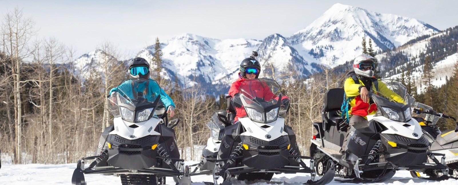 Snowbird Snowmobile Tours