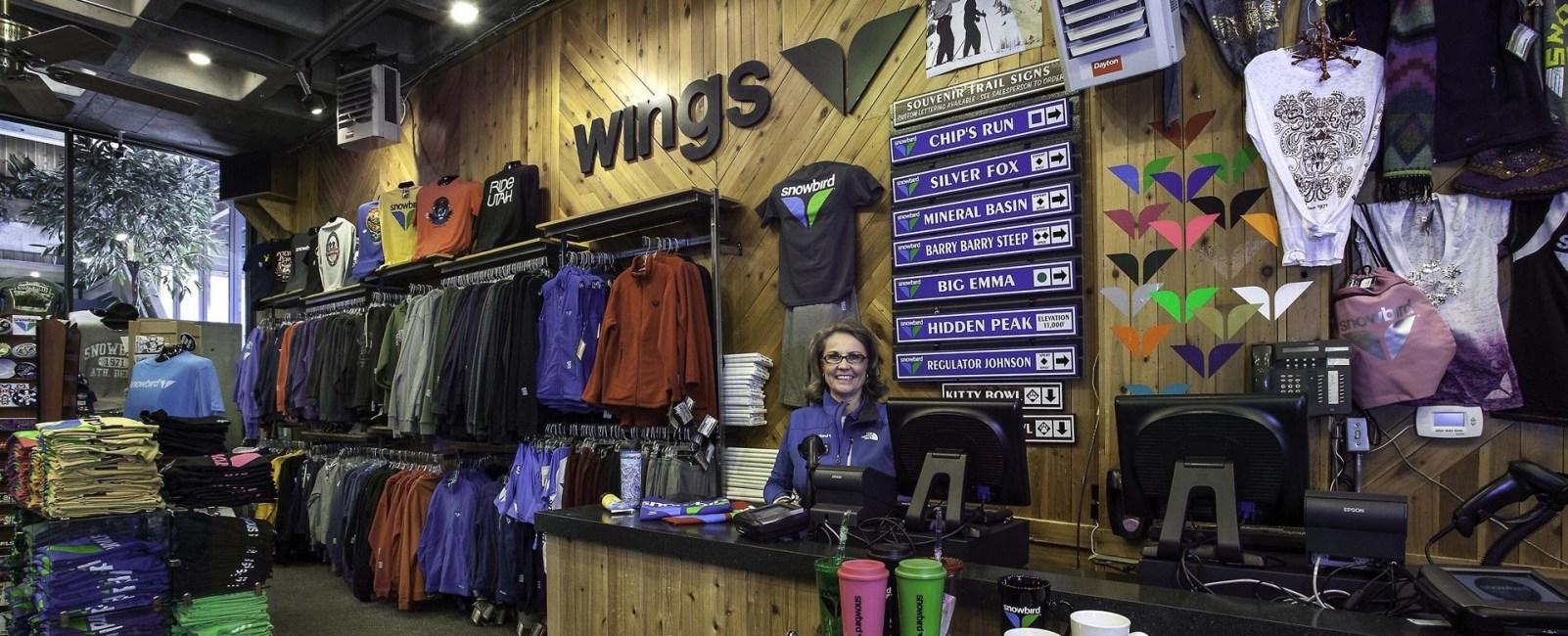 Snowbird Wings Retail