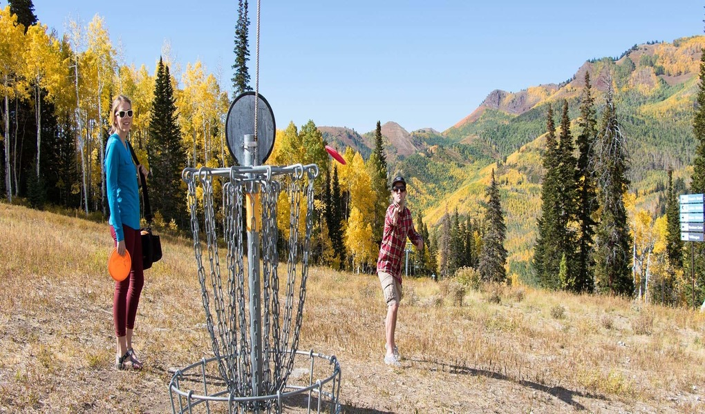 Disc Golf at Solitude Mountain Resort