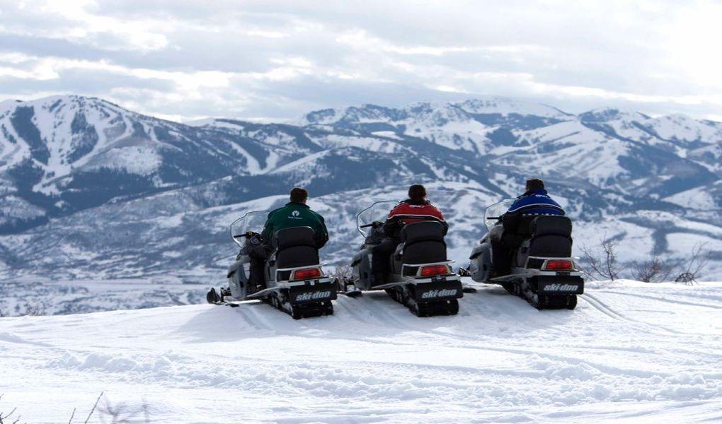 Summit Meadows Snowmobiling