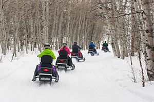 Summit Meadows Snowmobiling
