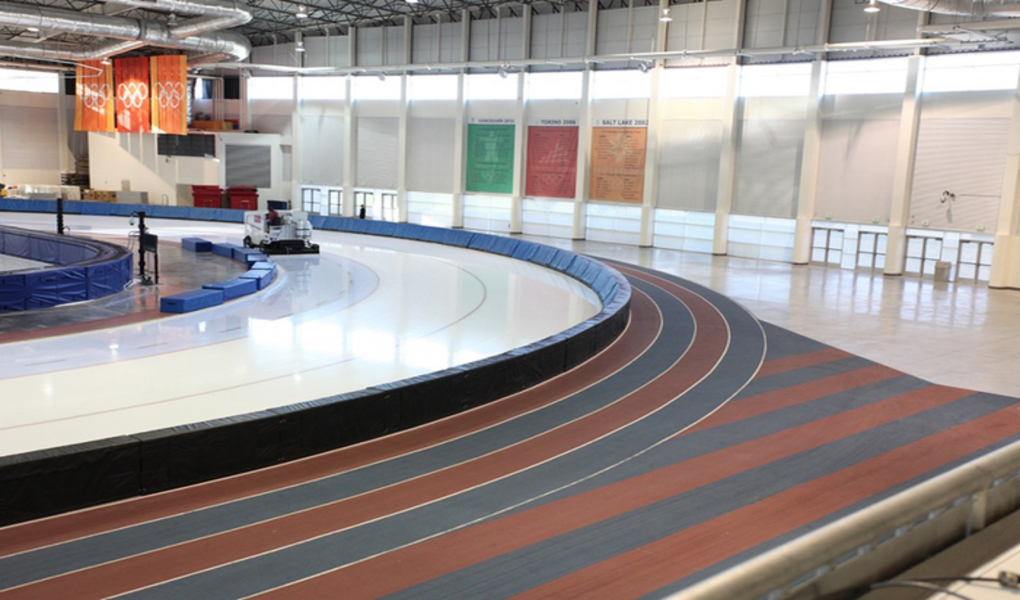 Huge Indoor Track
