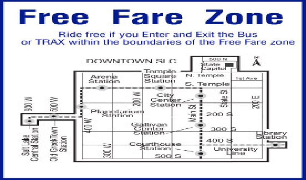 Free Fare Zone