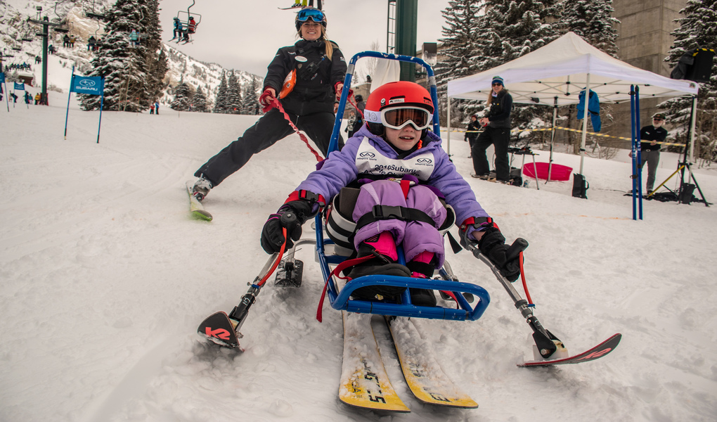 Race at Steve Young Ski Classic