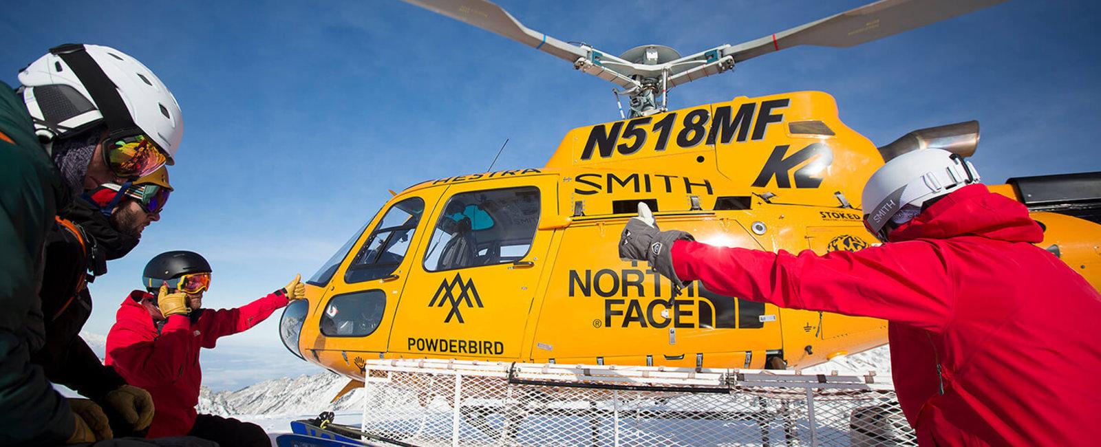 Powderbird Helicopter Skiing
