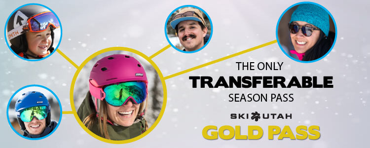 The Only Transferrable Utah Season Pass - Ski Utah Gold Pass