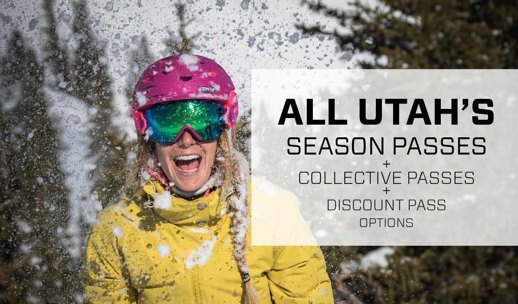2019 - 2020 utah ski resorts season passes