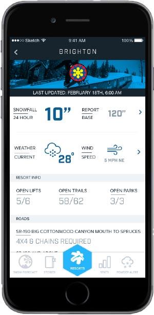 ski dating app